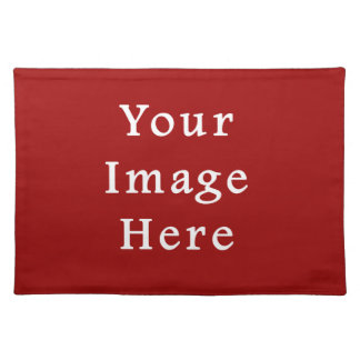 Christmas Red Soft Crimson Color Trend Template Place Mats