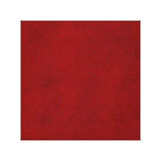 Christmas Red Solid Holiday Color Background Trend Canvas Print