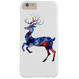 Christmas Reindeer Barely There iPhone 6 Plus Case
