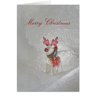 Christmas Reindeer Card by Janz