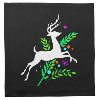 Christmas Reindeer Cloth Napkin