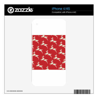 Christmas Reindeer Decal For The iPhone 4