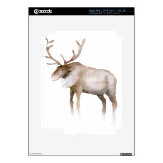 Christmas Reindeer Design Skin For iPad 3