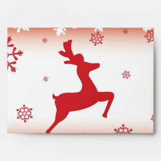 Christmas Reindeer Envelope