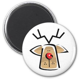 Christmas Reindeer Fridge Magnet