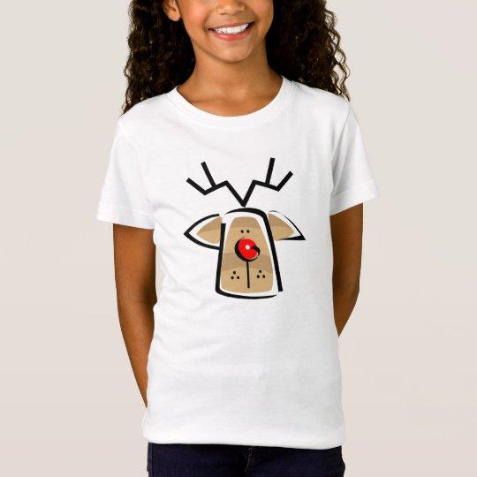 Christmas Reindeer Girls T-Shirt