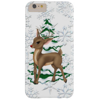 Christmas Reindeer iPhone 6 plus barely there case