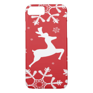 Christmas Reindeer iPhone 7 Case