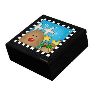 Christmas Reindeer Large Gift Box