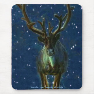 Christmas Reindeer Mouse Pad