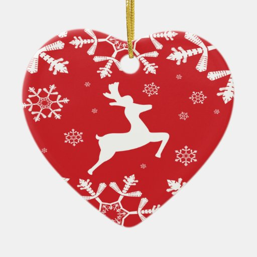 Christmas Reindeer Christmas Ornament