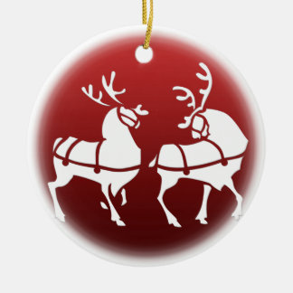 Christmas Reindeer Ornament Holiday Decorations