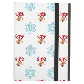 Christmas Reindeer Pattern Case For iPad Air