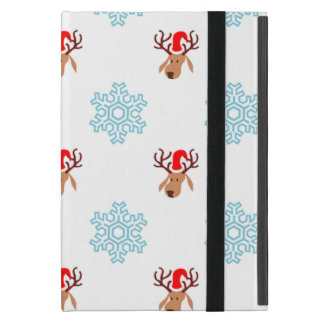 Christmas Reindeer Pattern Cover For iPad Mini
