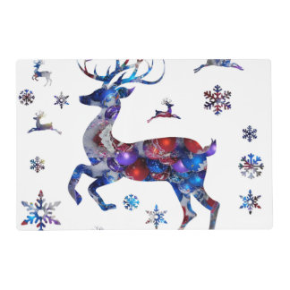 Christmas Reindeer Placemat