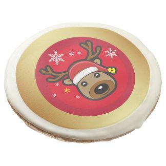 Christmas Reindeer Rudolph Sugar Cookie