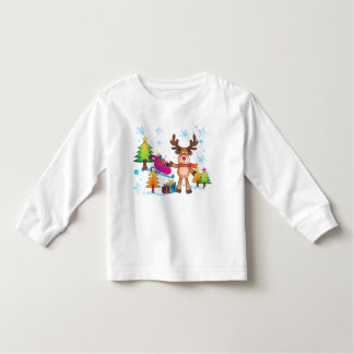 Christmas Reindeer shirt for kids