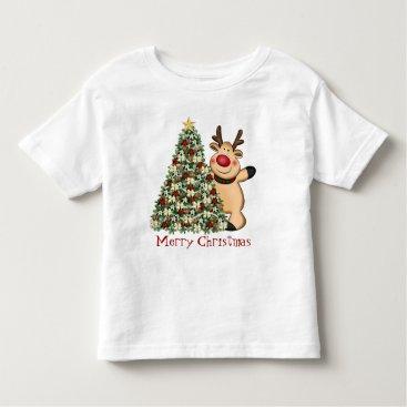 Christmas Themed Christmas reindeer t-shirt