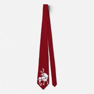 Christmas Reindeer Tie Custom Christmas Neckties