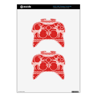 Christmas Reindeers Jumper Knit Pattern Xbox 360 Controller Skins