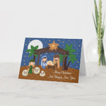 Christmas, Religious Greeting Card