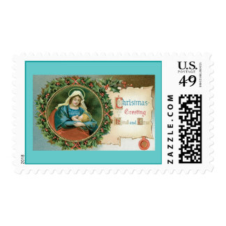 Christmas Religious Postage Stamp