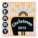 Christmas Retro 02 Card/Invitation