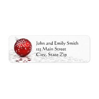 Christmas Return Address Labels at Zazzle
