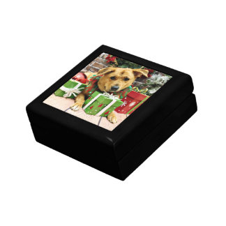 Christmas - Rhodesian Ridgeback - Gracie Trinket Box