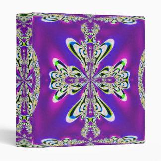 Christmas Ribbon Snowflake Bow Binder