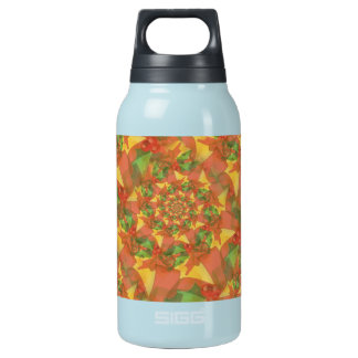 Christmas Ribbon Spiral Insulated Water Bottle