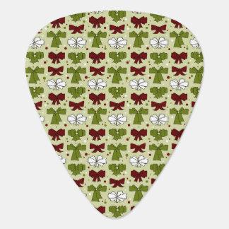 Christmas Ribbons & Bows Guitar Pick