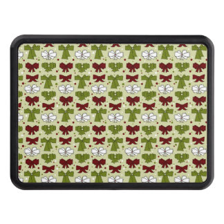 Christmas Ribbons & Bows Hitch Cover