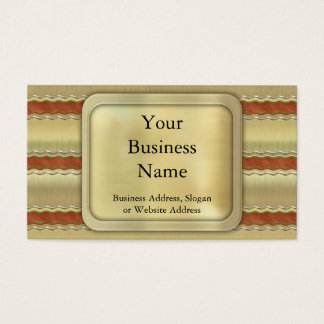 Christmas Ribbons Business Card