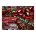 Christmas Ribbons Card