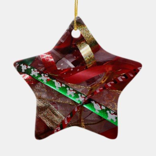 Christmas Ribbons Ornament