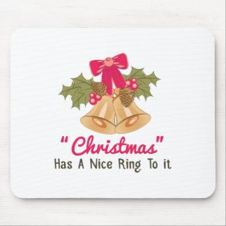 Christmas Ring Mouse Pad