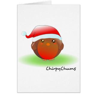 Christmas Robin Card