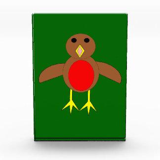 Christmas Robin Decoration Acrylic Award
