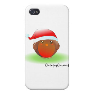 Christmas Robin Covers For iPhone 4