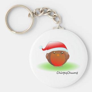 Christmas Robin Keychains