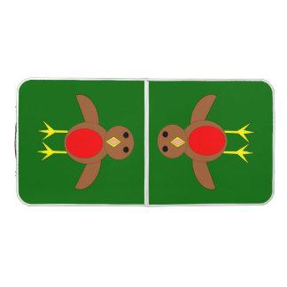 Christmas Robin Pong Table