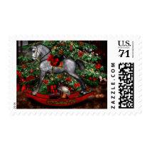 Christmas Rocking Horse Postage