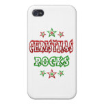 Christmas Rocks iPhone 4 Covers