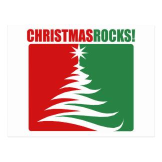 Christmas Rocks! Postcard