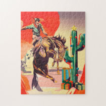 Christmas Rodeo Jigsaw Puzzle