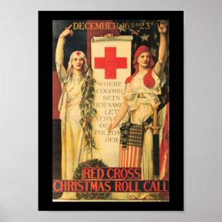 Christmas Roll Call World War II Poster