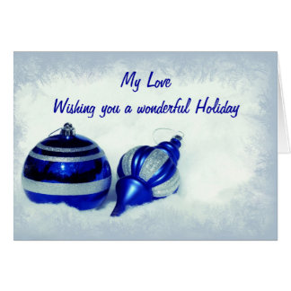 Christmas Romance Card