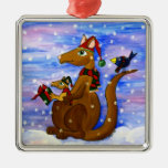 Christmas Roos Christmas Tree Ornament