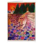 Christmas-rose Angel Cards